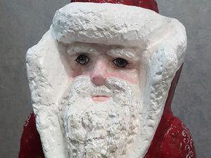 Мастер-класс: уличная скульптура «Дед Мороз» из монтажной пены. Ярмарка Мастеров - ручная работа, handmade.