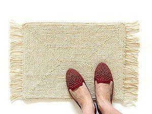How to Crochet a Cozy Mat. Livemaster - handmade