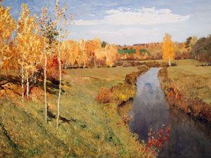 Осень в картинах русских художников/ осеннее вдохновение. Ярмарка Мастеров - ручная работа, handmade.