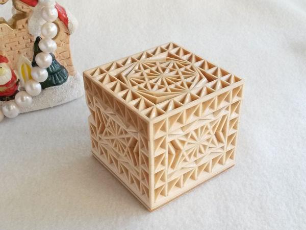 Как самостоятельно изготовить резную шкатулку «Бриллиант» | Ярмарка Мастеров - ручная работа, handmade