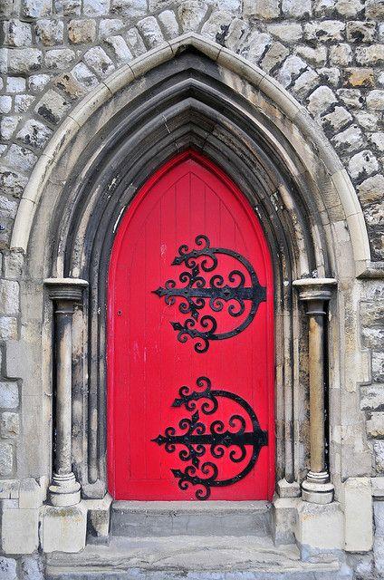Red door, via Flickr.