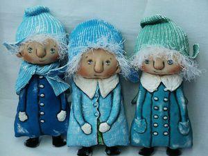 Ангелы Зимы! Новые куколки в магазине!   Ярмарка Мастеров - ручная работа, handmade