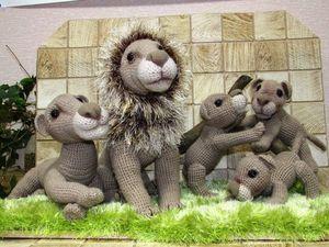 Семья львов. Ярмарка Мастеров - ручная работа, handmade.