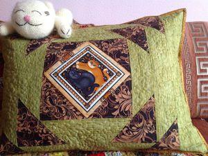 Детское лоскутное одеяло своими руками. Часть 7: стежка. Ярмарка Мастеров - ручная работа, handmade.
