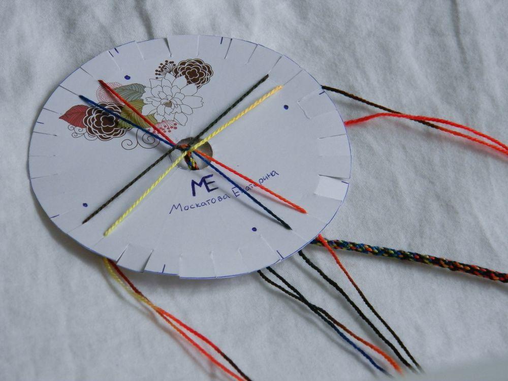 кумихимо, фенечки, плетение шнура, шнур плетеный, шнур, пояс, японская техника, марудай, такадай, каракумидай, как сплести, что такое кумихимо, диск кумихимо, плетение из ниток