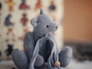 Выкройка мишки Маленький Пит в подарок!. Ярмарка Мастеров - ручная работа, handmade.