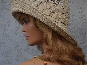 Видео. Летние шляпки в моём магазине. Ярмарка Мастеров - ручная работа, handmade.
