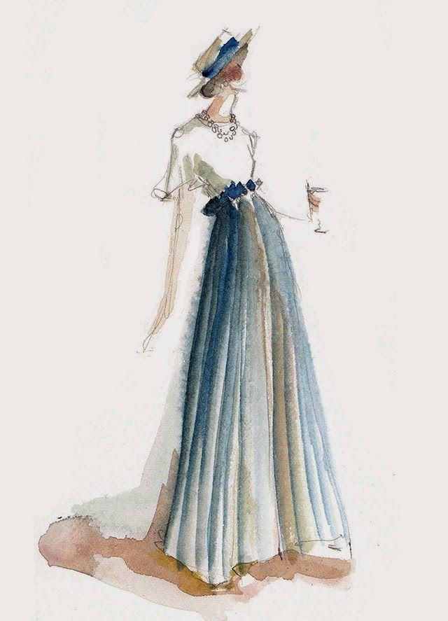118d1b103b4 40 волшебных fashion-иллюстраций от Katie Rodgers – Ярмарка Мастеров