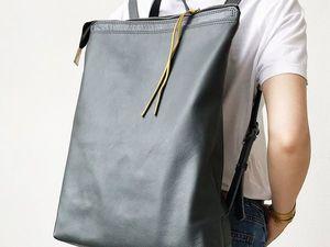 Обзор рюкзака Минимал. Ярмарка Мастеров - ручная работа, handmade.