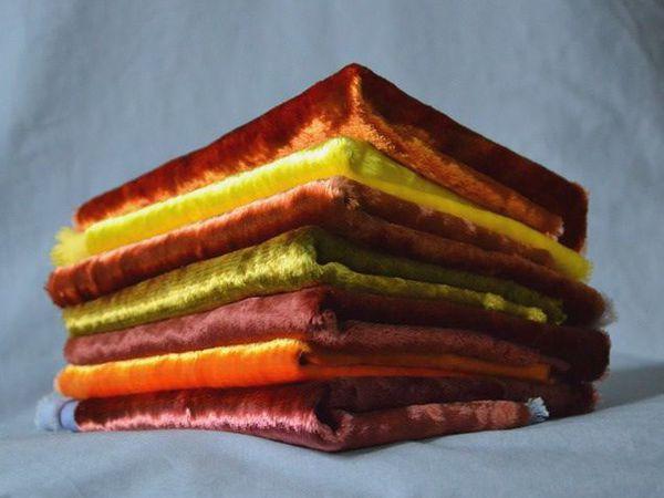 Плюшевая конфетка!!! Подарок-набор плюша из 7 отрезов!!! | Ярмарка Мастеров - ручная работа, handmade