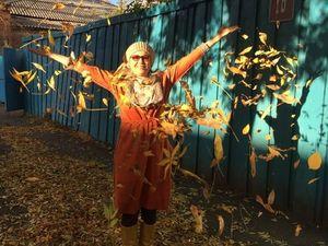 Оранжевое платье счастья. Ярмарка Мастеров - ручная работа, handmade.