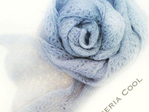 Новая модель Мохеровый шарф Нежность | Ярмарка Мастеров - ручная работа, handmade