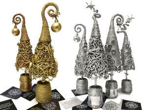 Стильные подарки на Новый год! Успей купить свою Ёлочку!. Ярмарка Мастеров - ручная работа, handmade.