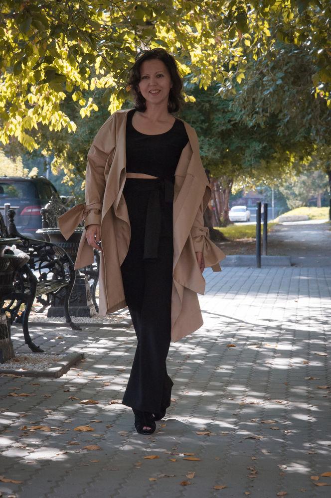 платье-трансформер, осеннее пальто