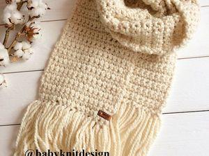 Лотерея. Объемный шарф за 100 рублей.. Ярмарка Мастеров - ручная работа, handmade.