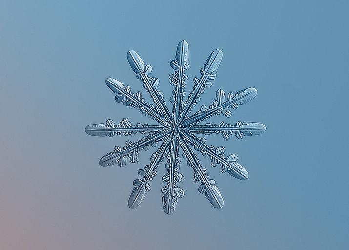 фото снежинок