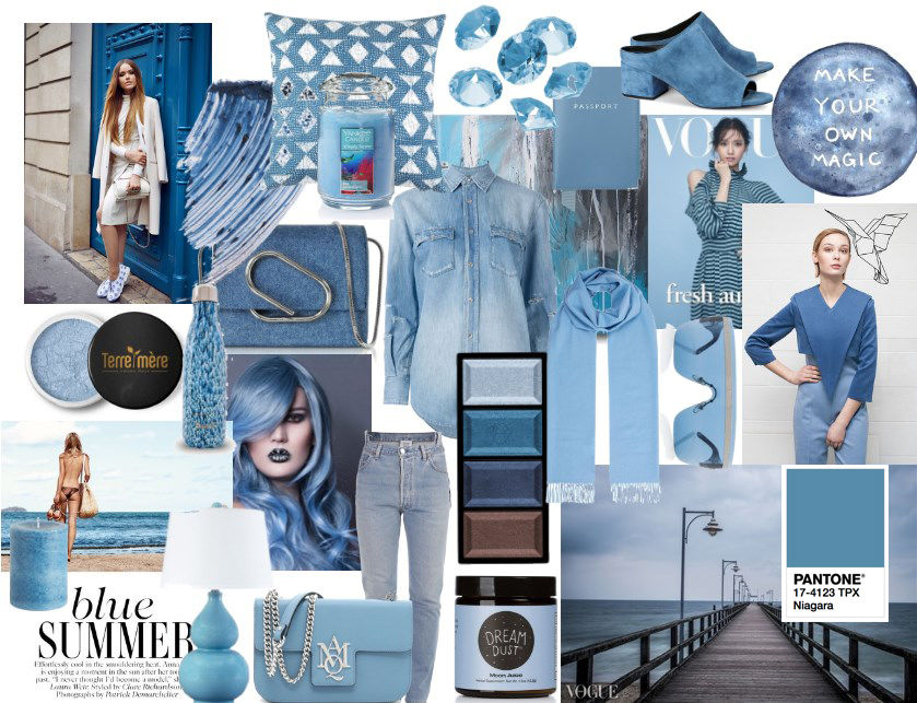 модные цвета, стиль и мода