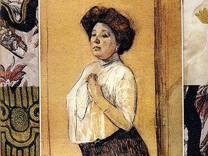 Приглашение на выставку,посвящённую 155-летию со дня рождения Надежды Ламановой   Ярмарка Мастеров - ручная работа, handmade