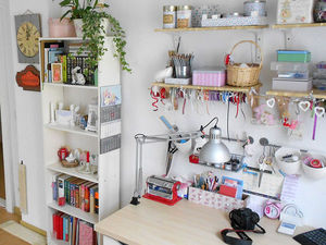 My Atelier, or How to Organize a Creative Space in Your Bedroom. Livemaster - handmade