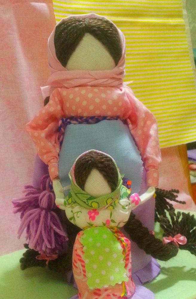 ведучка, обереги, мама, тряпичная кукла, куклы своими руками
