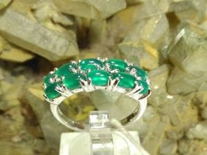 Видео кольцо с авантюрином. Ярмарка Мастеров - ручная работа, handmade.