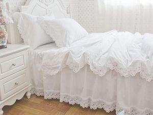 Нежнейшее постельное белье с кружевом ришелье:) Принимаем заказы;) | Ярмарка Мастеров - ручная работа, handmade