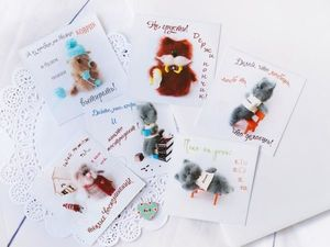 Розыгрыш набора открыток. Ярмарка Мастеров - ручная работа, handmade.