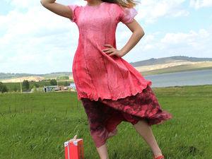Платье Розовое вино!. Ярмарка Мастеров - ручная работа, handmade.