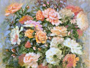 Любимые розы!. Ярмарка Мастеров - ручная работа, handmade.
