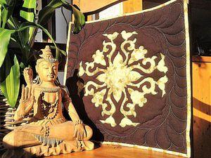 Мастер-красс по выполнению аппликации для панно, подушки или блока лоскутного одеяла. Ярмарка Мастеров - ручная работа, handmade.