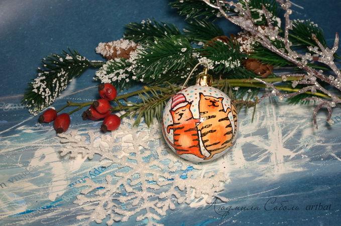 pebeo, новогодний декор, игрушки ручной работы