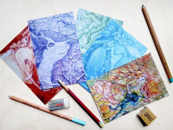 Праздничный розыгрыш набора авторских открыток! | Ярмарка Мастеров - ручная работа, handmade
