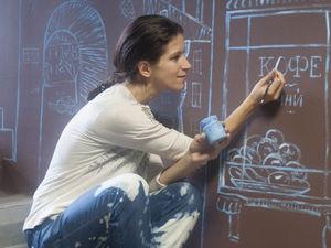 Как я расписывала стены! Петербург и меловая роспись.. Ярмарка Мастеров - ручная работа, handmade.