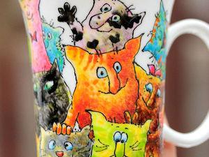 Много котов | Ярмарка Мастеров - ручная работа, handmade