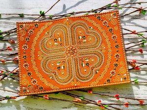 Обложка для паспорта. Ярмарка Мастеров - ручная работа, handmade.