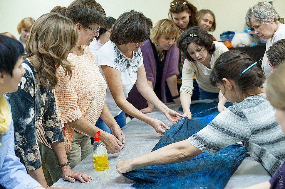 ukrasa, мастер-класс по валянию, обучение валянию, студия украса, мастер-класс, мастер-классы в москве, научиться валять, мокрое валяние, мария штрик, расписание мк