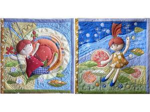 Детские полеты во сне и наяву — текстильное творчество. Ярмарка Мастеров - ручная работа, handmade.