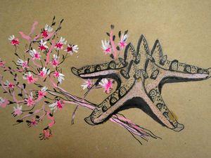 Живопись. Натюрморт в смешанной технике (тушь, акрил).   Ярмарка Мастеров - ручная работа, handmade