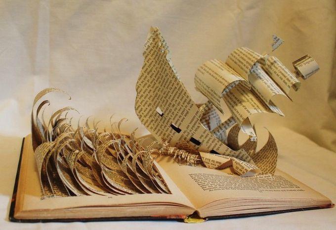 Поделки к году книги