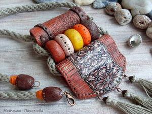 Кулон Мексиканские мотивы. Про заказы и повторы моих украшений.. Ярмарка Мастеров - ручная работа, handmade.