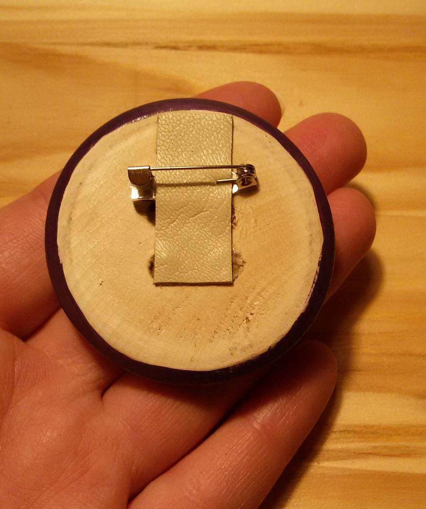мой льняной хоровод, брошь из дерева, пуговица с росписью, ситец с рисунком