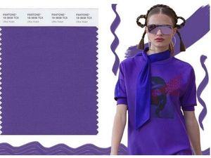 Институт цвета Pantone объявил Ультрафиолет цветом 2018 года. Ярмарка Мастеров - ручная работа, handmade.