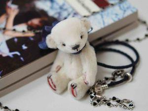 Мастер-класс Миниатюрный мишка Тедди | Ярмарка Мастеров - ручная работа, handmade