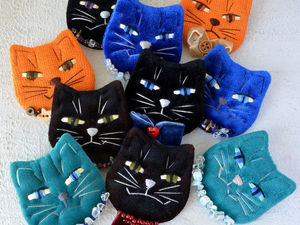 Новые кошкоброши! | Ярмарка Мастеров - ручная работа, handmade