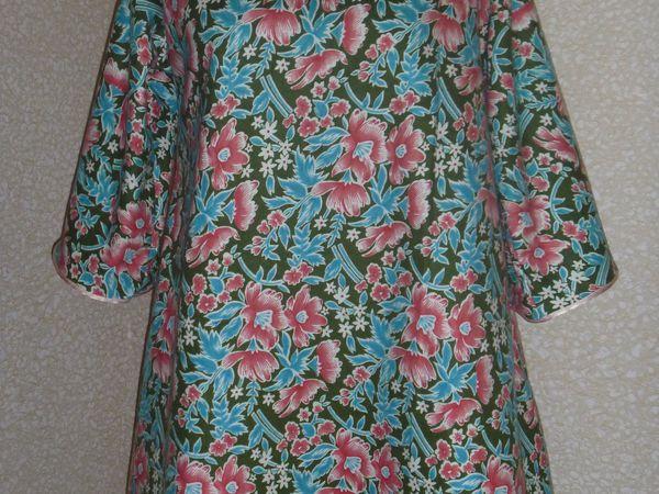 Платье из ситца своими руками фото 868