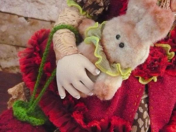 Как сделать ногти для текстильной куклы | Ярмарка Мастеров - ручная работа, handmade