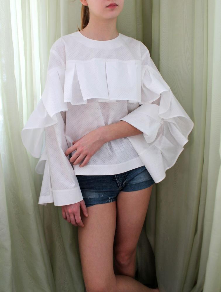 ультрамодная блузка