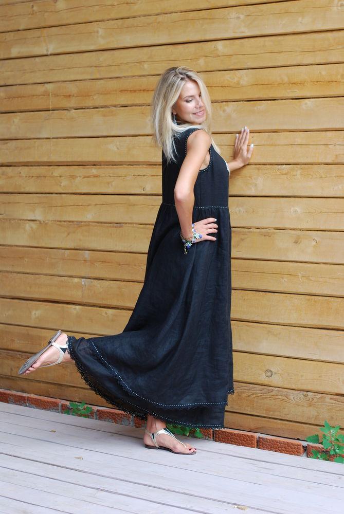 акция магазина, чёрное платье, платье в пол, платье на заказ, платье на новый год, черный, женская одежда