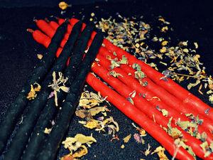 Свечные ритуалы. Ярмарка Мастеров - ручная работа, handmade.