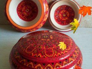 Возоблен прием заказов в Северо-Двинской Росписи. Ярмарка Мастеров - ручная работа, handmade.